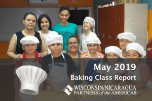 May 2019 Baking Class Report